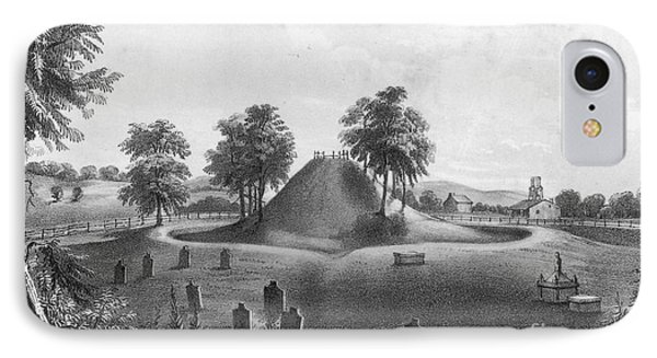 Great Mound At Marietta, 1848 Phone Case by Photo Researchers