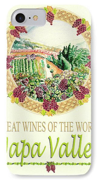 Great Wines Of The World -napa Valley Phone Case by John Keaton