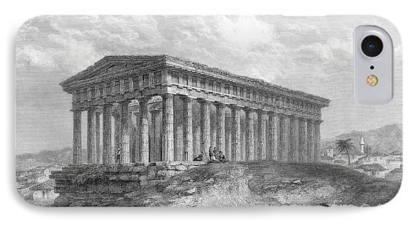Greece: Temple Ruins Phone Case by Granger