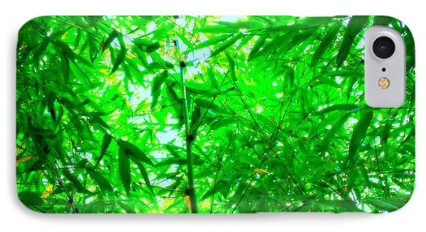 Green Bamboo Forest  IPhone Case