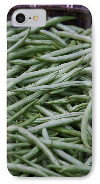 Green Beans Phone Case by David Buffington