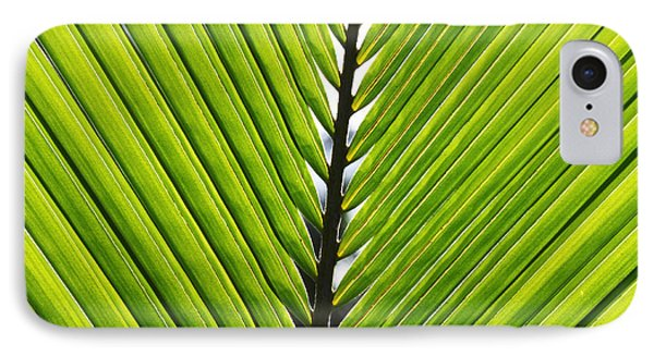 Green Fronds Phone Case by Lauri Novak