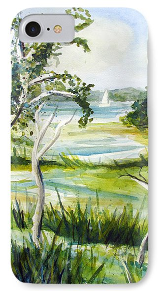 Green Land IPhone Case