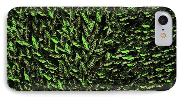 Green Leaf Phone Case by David Dehner