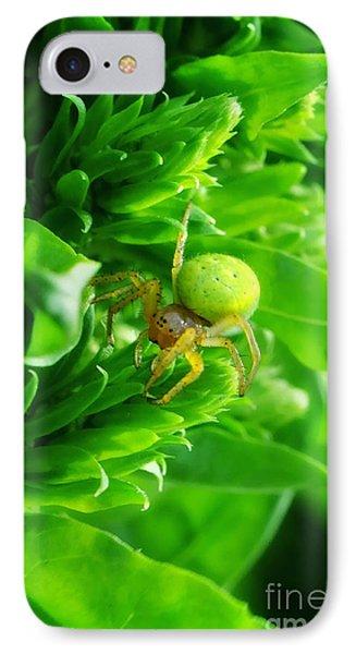 Green Spider 2.0 Phone Case by Yhun Suarez