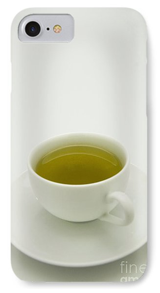 Green Tea In Teacup IPhone Case by Thom Gourley/Flatbread Images, LLC