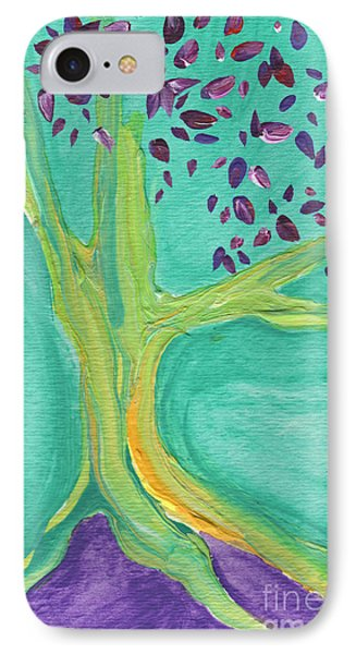 Green Tree Phone Case by First Star Art