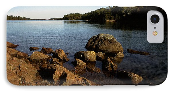 Greenlaw Cove Deer Isle Maine Phone Case by Thomas R Fletcher