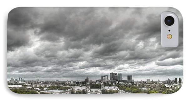 Greenwich And Docklands Hdr IPhone Case