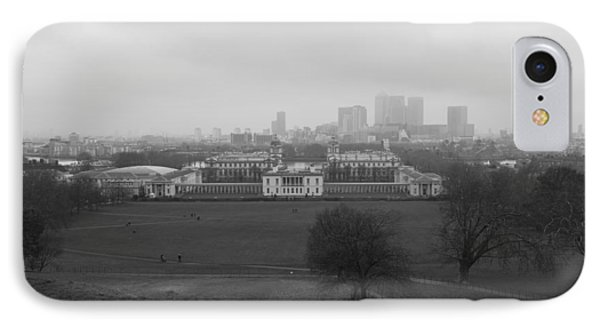 IPhone Case featuring the photograph Greenwich View by Maj Seda
