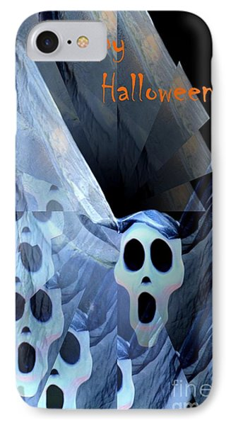 Greeting Card - Lost Souls Phone Case by Maria Urso