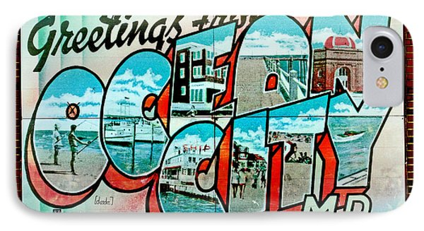Greetings From Oc Phone Case by Skip Willits