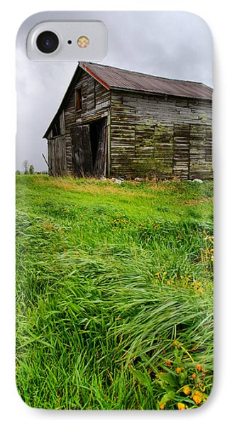 Grey County Barn IPhone Case by Cale Best