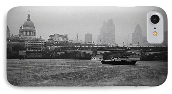IPhone Case featuring the photograph Grey London by Lenny Carter