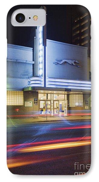 Greyhound Bus Station Phone Case by Jeremy Woodhouse