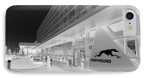 Greyhounding Phone Case by David Bearden