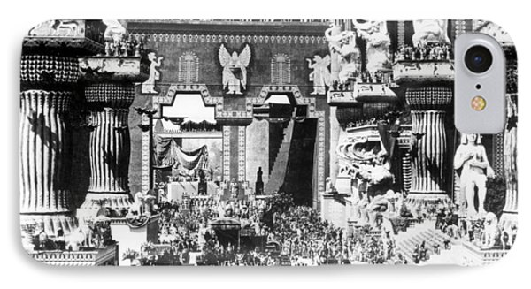 Griffith: Intolerance 1916 IPhone Case by Granger