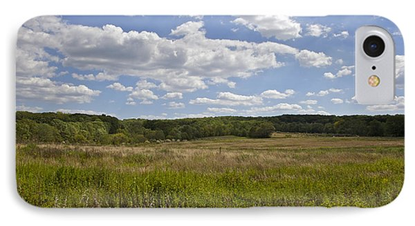 Griggstown Native Grassland Preserve Phone Case by David Letts