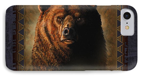 Grizzly Lodge IPhone Case