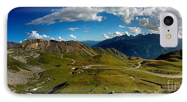 Grossglockner High Alpine Road IPhone Case by Nailia Schwarz