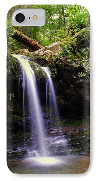 Grotto Falls IPhone Case by Frozen in Time Fine Art Photography