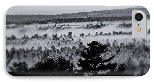 Ground Fog Phone Case by Susan Capuano