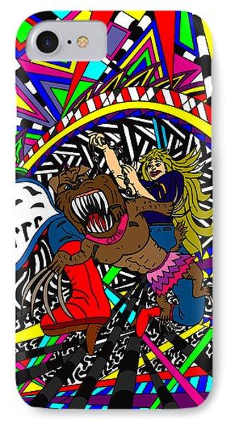 Grrr Phone Case by Karen Elzinga
