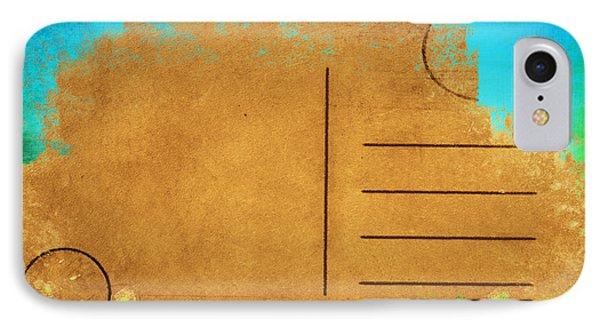 Grunge Color On Old Postcard Phone Case by Setsiri Silapasuwanchai