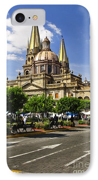 Guadalajara Cathedral Phone Case by Elena Elisseeva