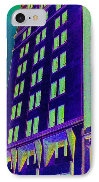 IPhone Case featuring the photograph Guaranty Bank Building by Louis Nugent