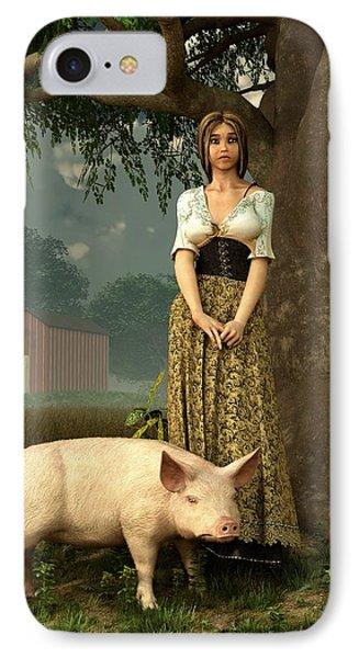 Guard Pig IPhone Case
