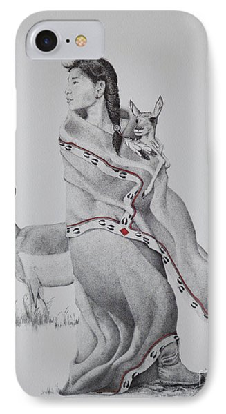 Guardian Of The Herd Phone Case by Tracy L Teeter