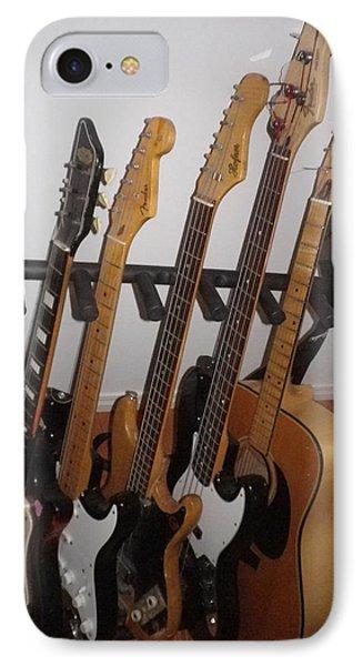 Guitars Phone Case by Michael Titherington