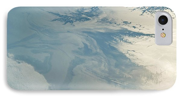 Gulf Of Mexico Oil Spill From Space IPhone Case by NASA/Science Source
