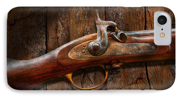 Gun - Musket - London Armory  Phone Case by Mike Savad
