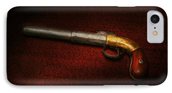 Gun - The Shooting Iron Phone Case by Mike Savad