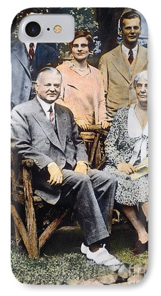 H. Hoover And Family Phone Case by Granger