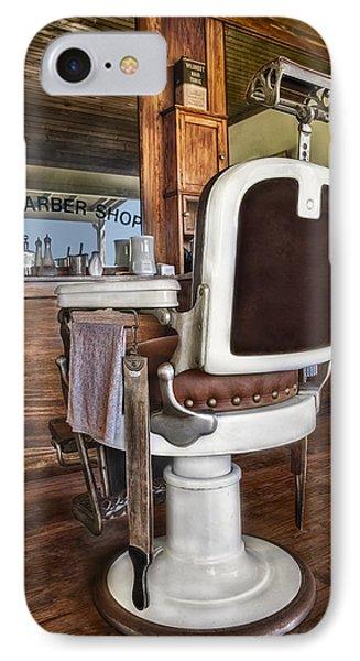 H J Barber Shop Phone Case by Susan Candelario