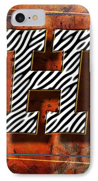 H Phone Case by Mauro Celotti