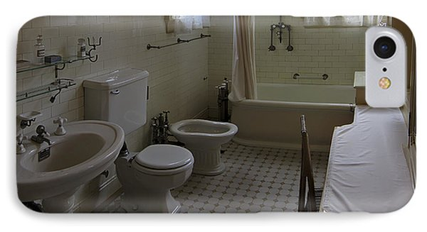 Haas Lilienthal House Victorian Bath - San Francisco Phone Case by Daniel Hagerman