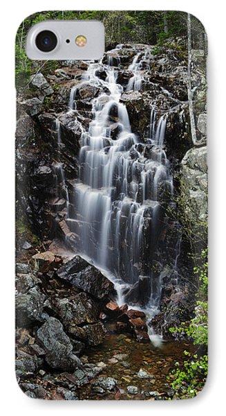 Hadlock Falls Acadia IPhone Case by Rick Berk