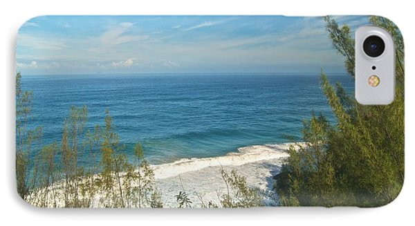 Haena State Park Overview Phone Case by Michael Peychich
