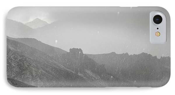 Hail Storm In The Mountains Phone Case by Guido Montanes Castillo