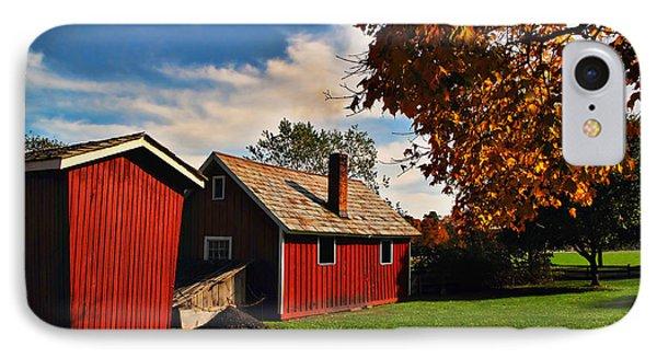 Hale Farm In Autumn Phone Case by Joan  Minchak
