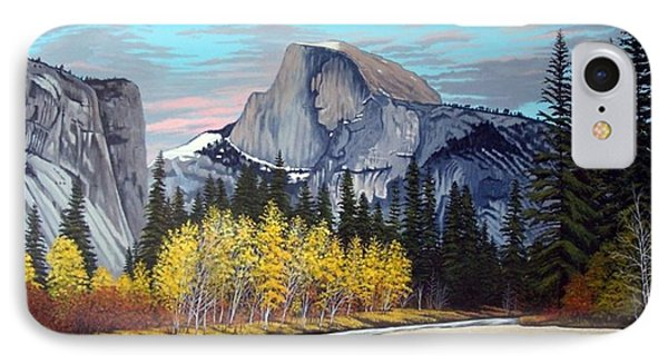 Half-dome Phone Case by Rick Gallant