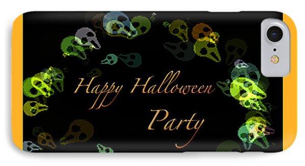 Halloween Party Phone Case by Debra     Vatalaro
