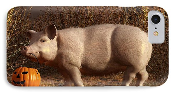 Halloween Pig IPhone Case