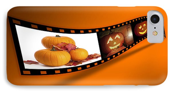 Halloween Pumpkin Film Strip IPhone Case