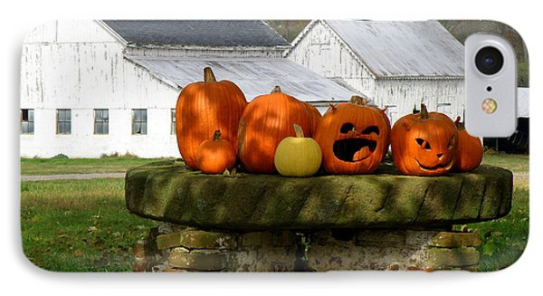 Halloween Scene IPhone Case by Lainie Wrightson