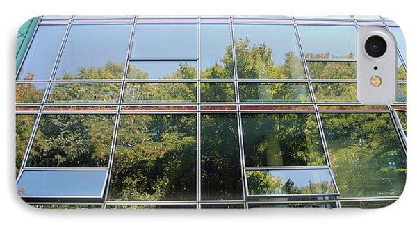 Hamburg Building Reflection IPhone Case